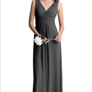 Bill Levkoff black maxi dress style 7009